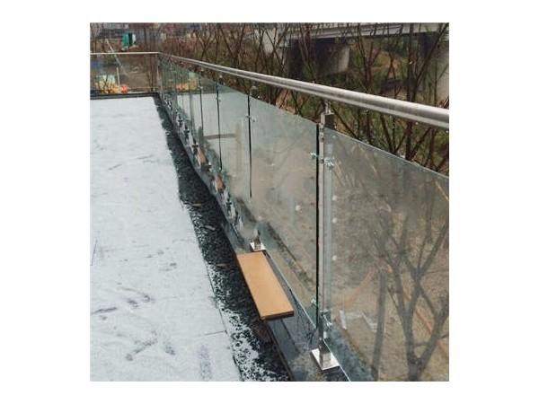 纯玻璃楼梯扶手  DJ-8018
