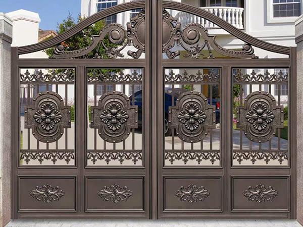 铝艺别墅/庭院门,围栏多少钱一平方