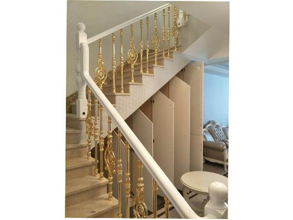 室内铜楼梯扶手   DJ-8001
