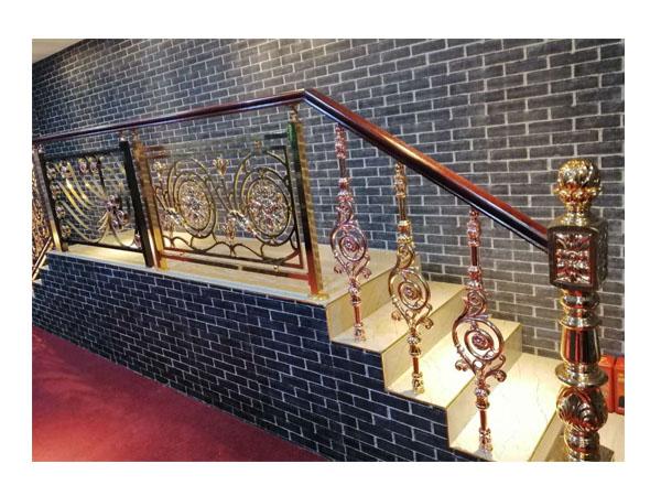 新款铜楼梯扶手