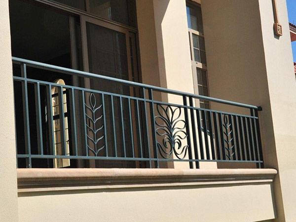 阳台铁艺护栏  DJ-8005
