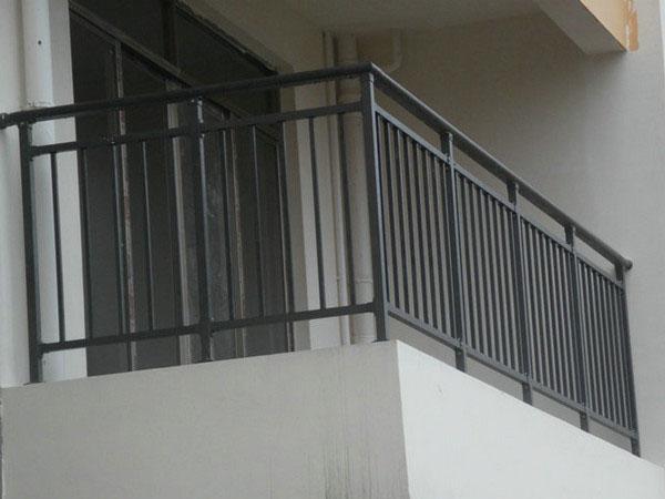 锌钢组合护栏  DJ -8003