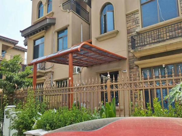 庭院铝艺阳光雨棚   DJ-8005